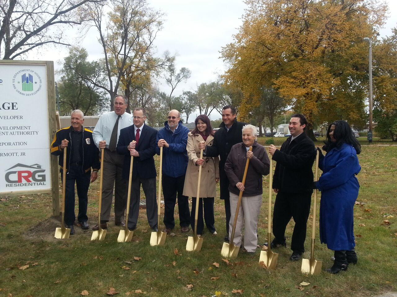 Flagstone Village Groundbreaking